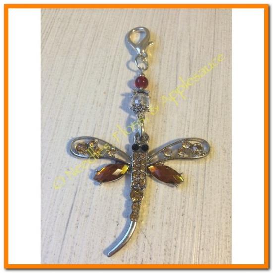 Dragonfly Scissor Fob